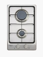 Euro EPZ2GFFDSS 30cm Stainless Steel GAS COOKTOP WITH RAPID HEAT BURNER