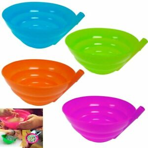 4 Cereal Bowl for Kids with Built in Straw Plastic Sip-a-bowl