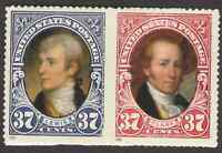 US. 3855-56. 37c. Lewis & Clark. 3856a. Booklet Pair of 2. MNH. 2004