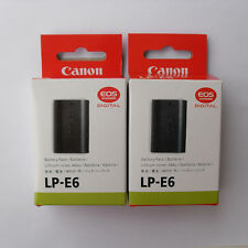 2x LP-E6 Battery for Canon EOS 5D 6D 7D 60D 60Da Mark II III Camera Grip