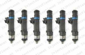 Set of 6 Bosch 0280158020 Injector 2006-2010 Jeep Commander 3.7L V6 53032701AA