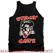 STRAY CATS PUNK ROCK ALTERNATIVE  MEN'S SIZES TANK TOP T SHIRT