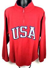 VTG Black Mountain USA Zip Up Fleece Sweater Jacket Outdoor Gear XXL
