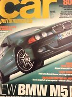 Car Magazine BMW M5 & Jaguar S-Type December 1998 021018nonrh