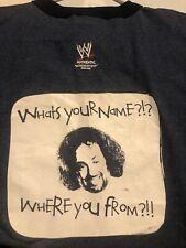 Rare Vintage *NEW* 2005 WWE EUGENE Ringer Shirt Wrestling Wwf Wcw nWo Ecw AEW