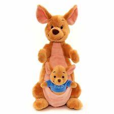 NEW Disney Kanga Roo Soft Toy Winnie the Pooh Kangaroo Stuffed Animal