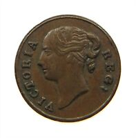 GREAT BRITAIN MODEL 1/4 FARTHING 1848 VICTORIA #s22 383