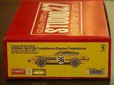 Studio27 FR2416 1:24 Ferrari 365 GTB4 Competizione #36 Franccorchamps resin kit