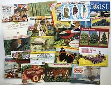 Trade Cards - 34 Empty Albums (Brooke Bond & Co.)