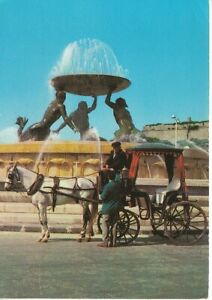 "M Malta G.C. Local ""Karozzin"" and Triton Fountain glum 1975? C8678"