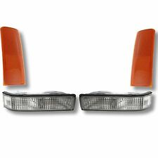 4PC SIDE MARKER PARK LAMPS LIGHTS SET for CHEVY Pickup WORK TRUCK w/Sealed Beam
