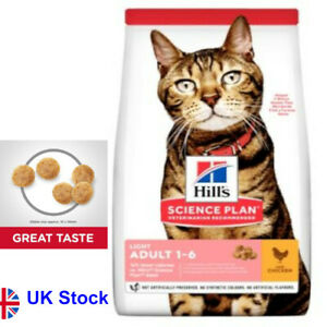 10KG Hill's Science Plan Adult Light Chicken High-Quality Protein