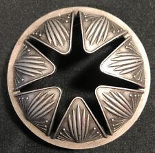 Yankee Candle Illuma Lid 6 point star geometric pewter all season design