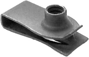 """Ford and Gm 1/4-20 extruded U-nuts panel range 0.025""""-0.150"""" Oem 45267 Qty 25"""