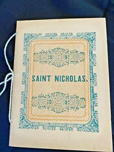 VTG A Visit from St Nicholas Night Before Christmas Facsimile-1849 First Edition