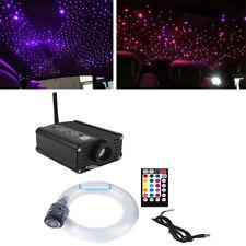16W Car Headliner Star Light kit Roof Star Lights Fiber Optic Bluetooth Control