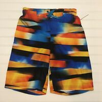 75d525e914 NWT Boys ZeroXposur Swim Trunks Size Medium M 10/12 10 12 Board Shorts