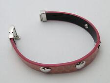 Reif-Design-brazalete original thomas sabo-cuero y plata 925