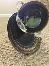 ANTIQUE/COLLECTIBLE COFFEE CUP AND SAUCER HAND PAINTED MADE IN OCCUPIED JAPAN