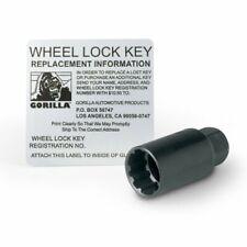 Gorilla Automotive 71631nbc Acorn Black Chrome Wheel Locks (12mm X 1.50 Thread