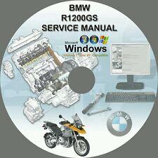 BMW R1200GS R1200GS ADVENTURE MOTORCYCLE SERVICE REPAIR MANUAL DVD 2004-2011