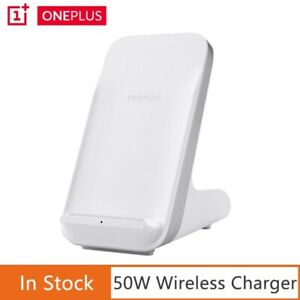 New Original OnePlus 9 Pro Wireless Charger Stand 50W Warp Air Cooling Charger