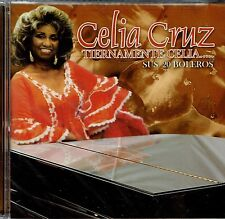 Celia Cruz Tiernamente Celia  Sus  20 Boleros  BRAND NEW SEALED CD