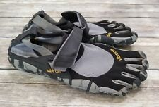 Vibram Fivefingers Black Grey Camo KSO Barefoot Running Shoes Size 40 8 8.5