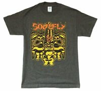 Soulfly Totems Spring USA Tour 2006 Grey T Shirt New Official Band Merch