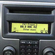 volvo c30 s40 v50 c70  icm radio display panel 2006 - 2009