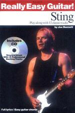 Really Easy Guitar! Sting / The Police Songbook mit CD für Gitarre leicht