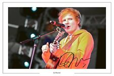ED SHEERAN SIGNED AUTOGRAPH PHOTO PRINT YOU NEED ME