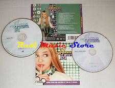 CD + DVD HANNAH MONTANA 2006 WALT DISNEY RECORDS 61620-7 no mc lp vhs (OST2)
