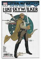 Star Wars AOR Luke Skywalker #1 2019 Unread Dodson Main Cover Marvel Comics