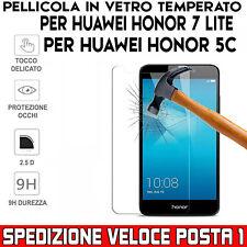 Pellicola Antiurto Vetro Temperato Proteggi Schermo per Huawei HONOR 7 LITE e 5C