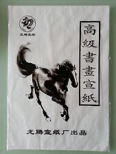55 pcs LONG TENG Xuan Paper Rice Paper Chinese Painting Calligraphy 35 X 51cm