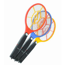 Battery LED Electric Bug Pest Insect  Fly Mosquito Killer Swatter Zapper Racket