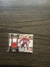 Dominic Hasek Detroit red wings spx winning materials jersey card