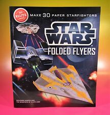 Klutz Star Wars Folded Flyers: Make 30 Paper Starfighters by Harper MINT NEW
