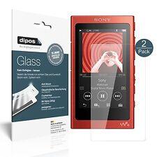 2x Sony Walkman NW-A35HN Pellicola Protettiva Protezione Vetro Flessibile 9H