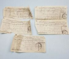 More details for antique vintage post office proof of postage from a post office brecon