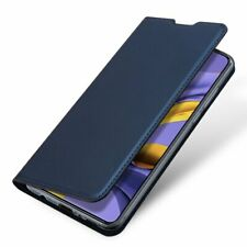 XIAOMI REDMI NOTE 8T  Handy Tasche Schutz Hülle DUX DUCIS LEDER Book Case BLAU P