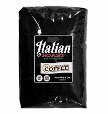 Italian Roast Espresso Artisan Blend Coffee, Whole Bean Bag, Fresh Roasted