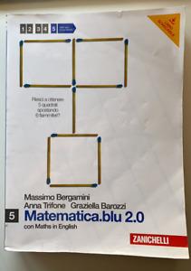 LIBRO MATEMATICA.BLU.2.0 ZANICHELLI volume 5   -    Bergamini, Trifone, Barozzi