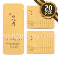 [Sulwhasoo] Essential Rejuvenating Eye Cream EX 1ml x 20pcs (20ml) Sample