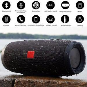 IPX7 Waterproof Outdoor Portable Bluetooth Speaker Outdoor Column Stereo HiFi
