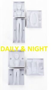 3D CHILD WOMAN LADY DOLL FIGURE BODY MOULD PEOPLE PERSON HUMAN CAKE DECORATING