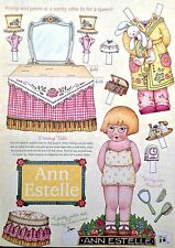 Mary Engelbreit Mag. Paper Doll, Ann Estelle, April/May 2001, Uncut