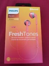 Philips My Jam Fresh Tones SHB5250PK Wireless Bluetooth Earphones & Microphone