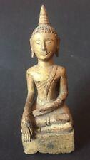 Buddha Asia  Thailand Chiengsaen Laos ANTIQUE BUDDHA  STATUE FIGURE OLD